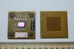 Процессор на текстолите (коричневый)